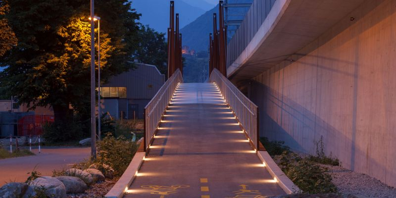 AI SALEGGI PEDESTRIAN/CYCLE BRIDGE
